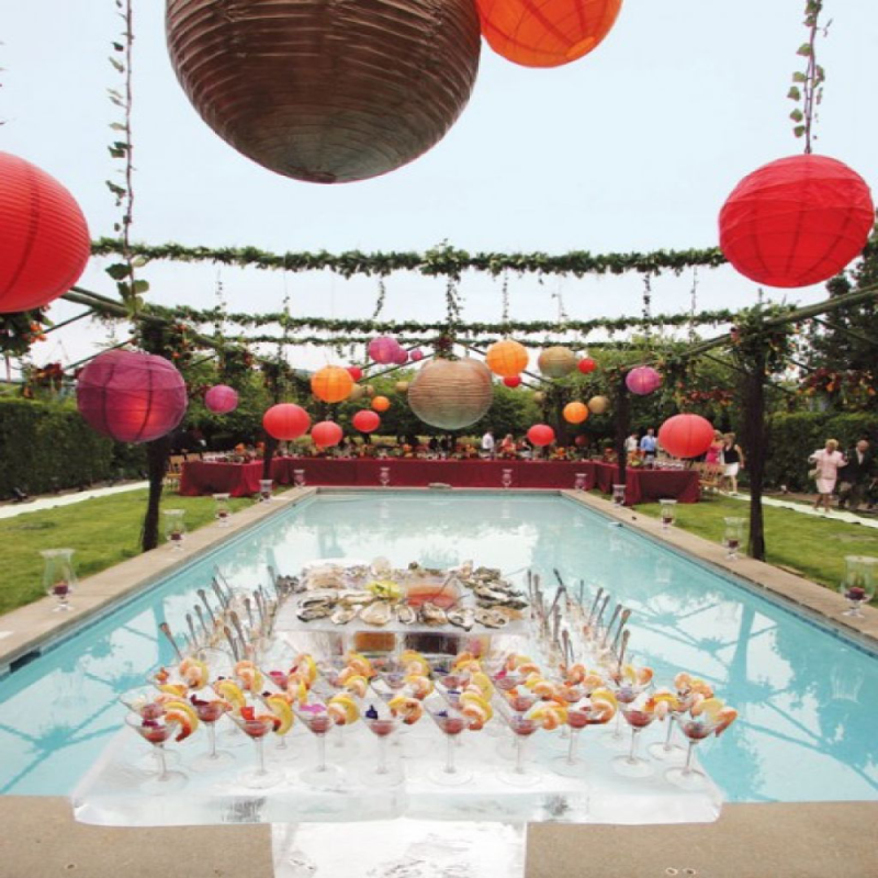Valentine's Pool Party Ideas