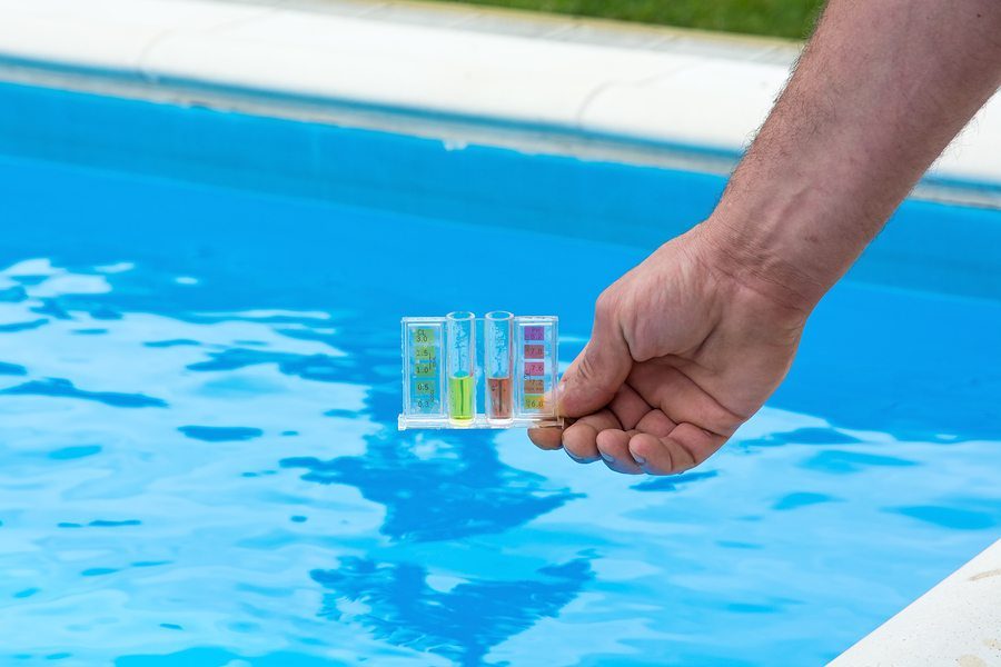 How do I reduce the PH in a swimming pool?